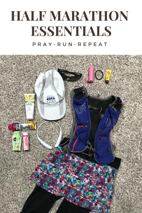 Half Marathon essentials